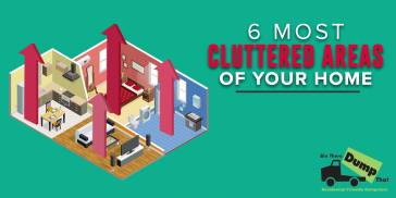 6 Cluttered Areas of the Home